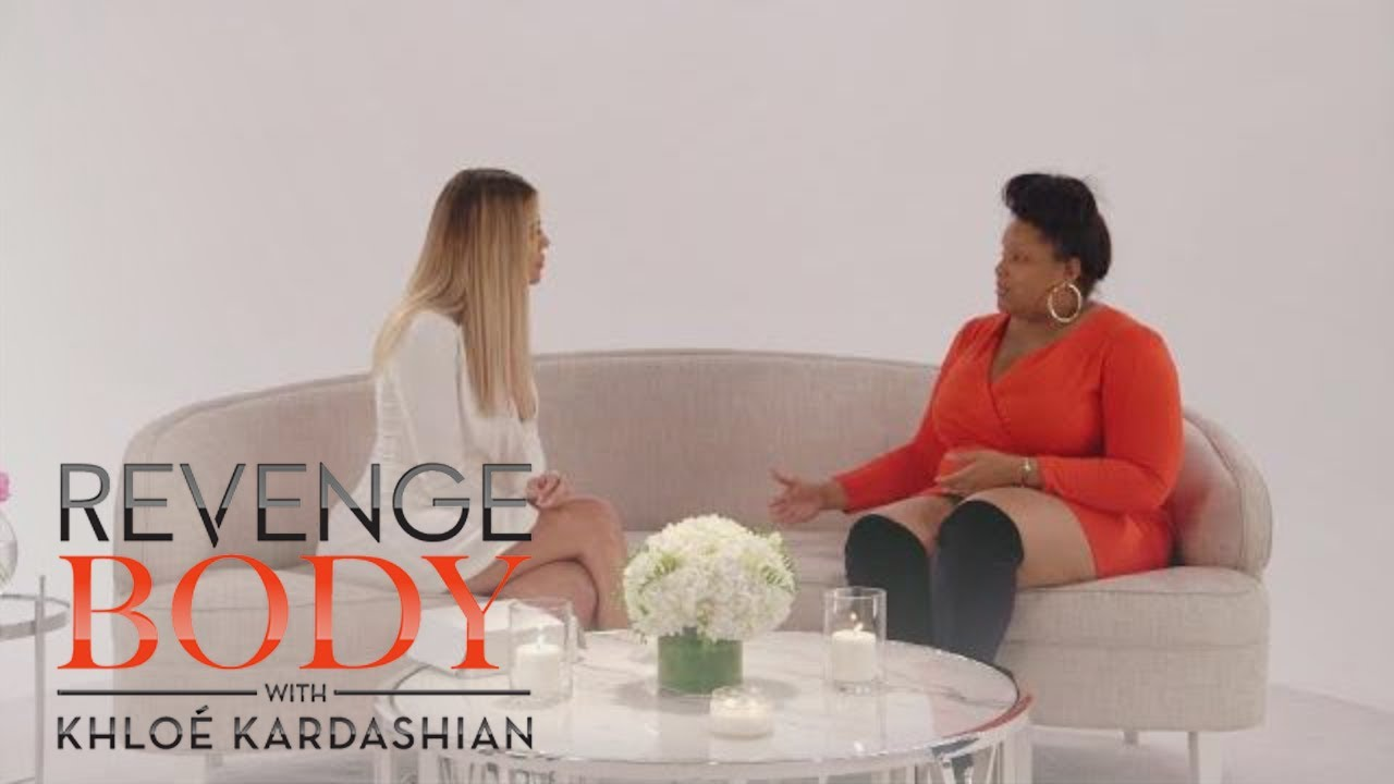 Melissa's First Meet Up With Khloé Gets Emotional | Revenge Body with Khloé Kardashian | E! 4
