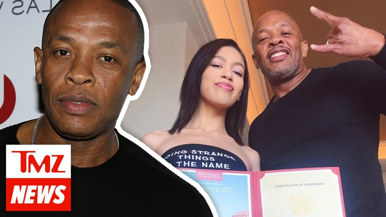 Dr. Dre Deletes Post Gloating Over Daughter's Acceptance to USC | TMZ NEWSROOM TODAY 5