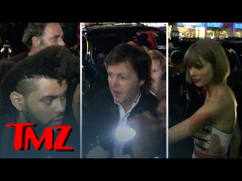 Taylor Swift, Sir Paul McCartney, The Weeknd Rub -- Republic Records Grammy Party | TMZ 5