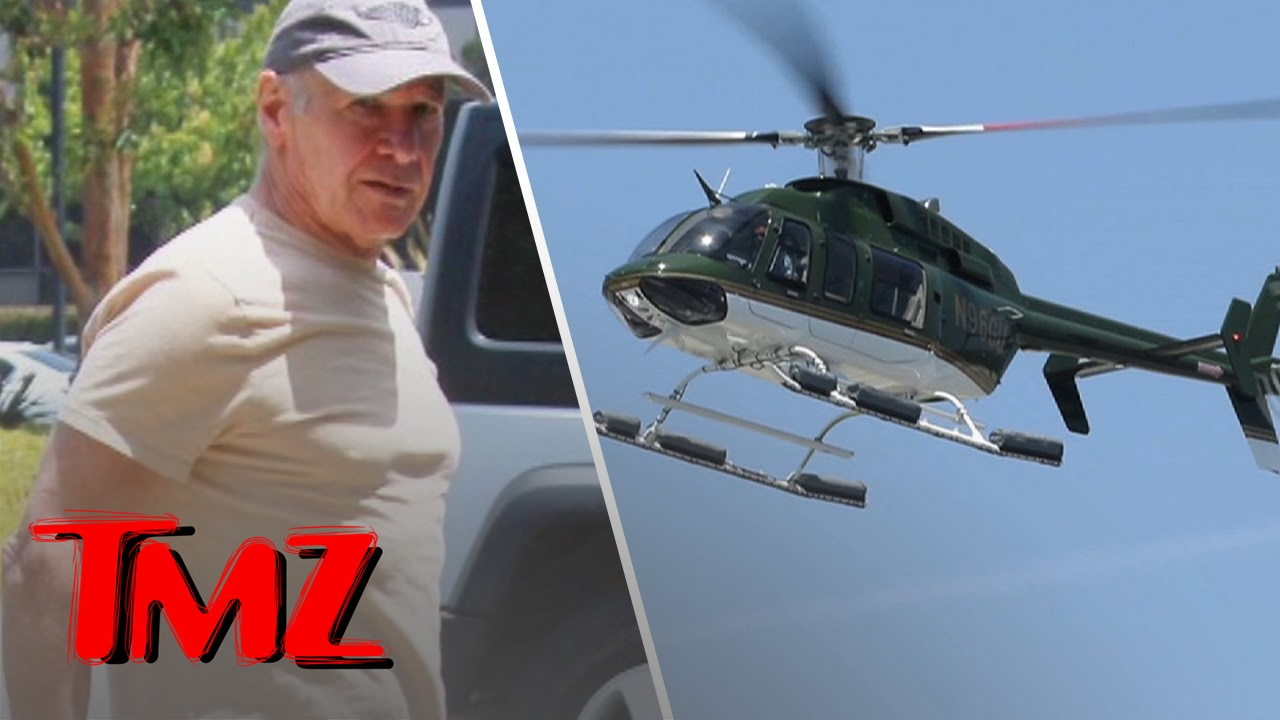 Harrison Ford – Back In The Sky! | TMZ 4