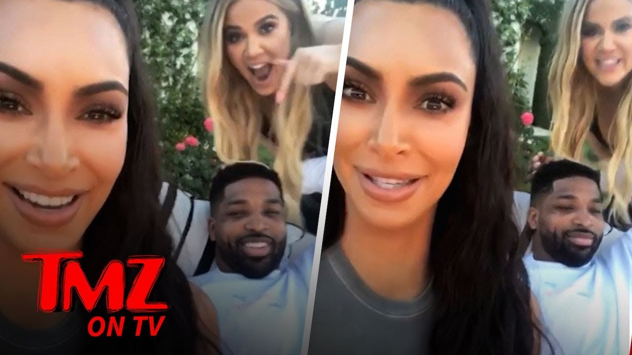 Kim K Calls Out Tristan Thompson To His Face! | TMZ TV 1