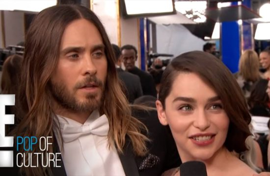 Jared Leto Macks on Emilia Clarke | E! Entertainment 14