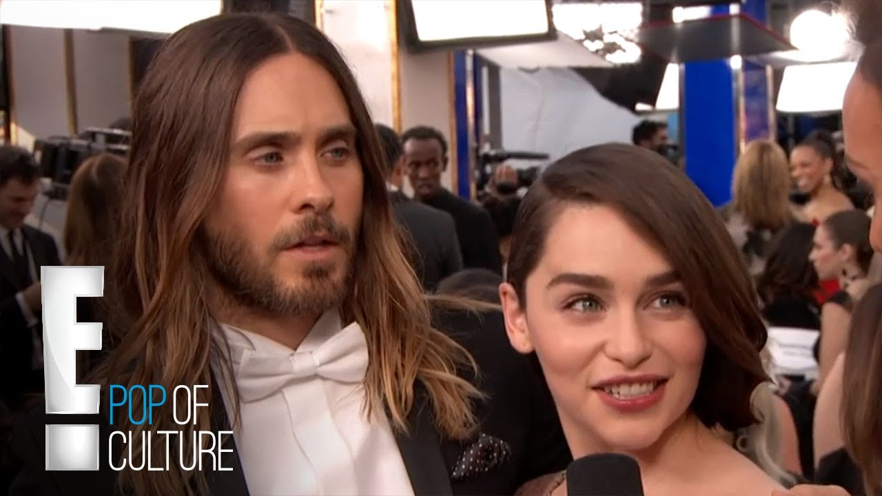 Jared Leto Macks on Emilia Clarke | E! Entertainment 5