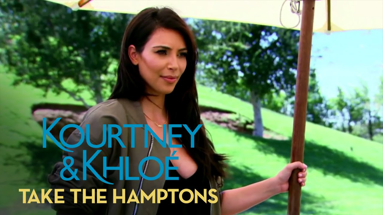 Kourtney Kardashian Is Shutting Down the Party! | Kourtney & Khloé Take the Hamptons | E! 4