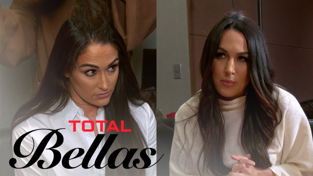 Nikki Bella Promises To Give Up Drinking | Total Bellas | E! 1