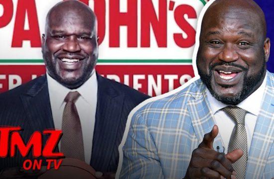 Shaq Joins Papa John's Board Of Directors Following Ex-CEO's N-Word Scandal | TMZ TV 3