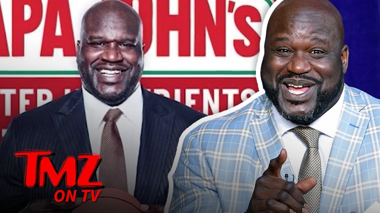 Shaq Joins Papa John's Board Of Directors Following Ex-CEO's N-Word Scandal | TMZ TV 5