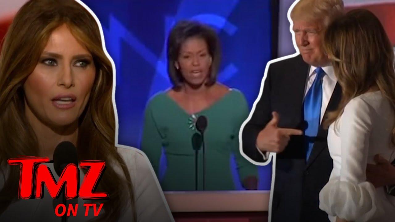 Melania Trump Mimics Michelle | TMZ TV 2