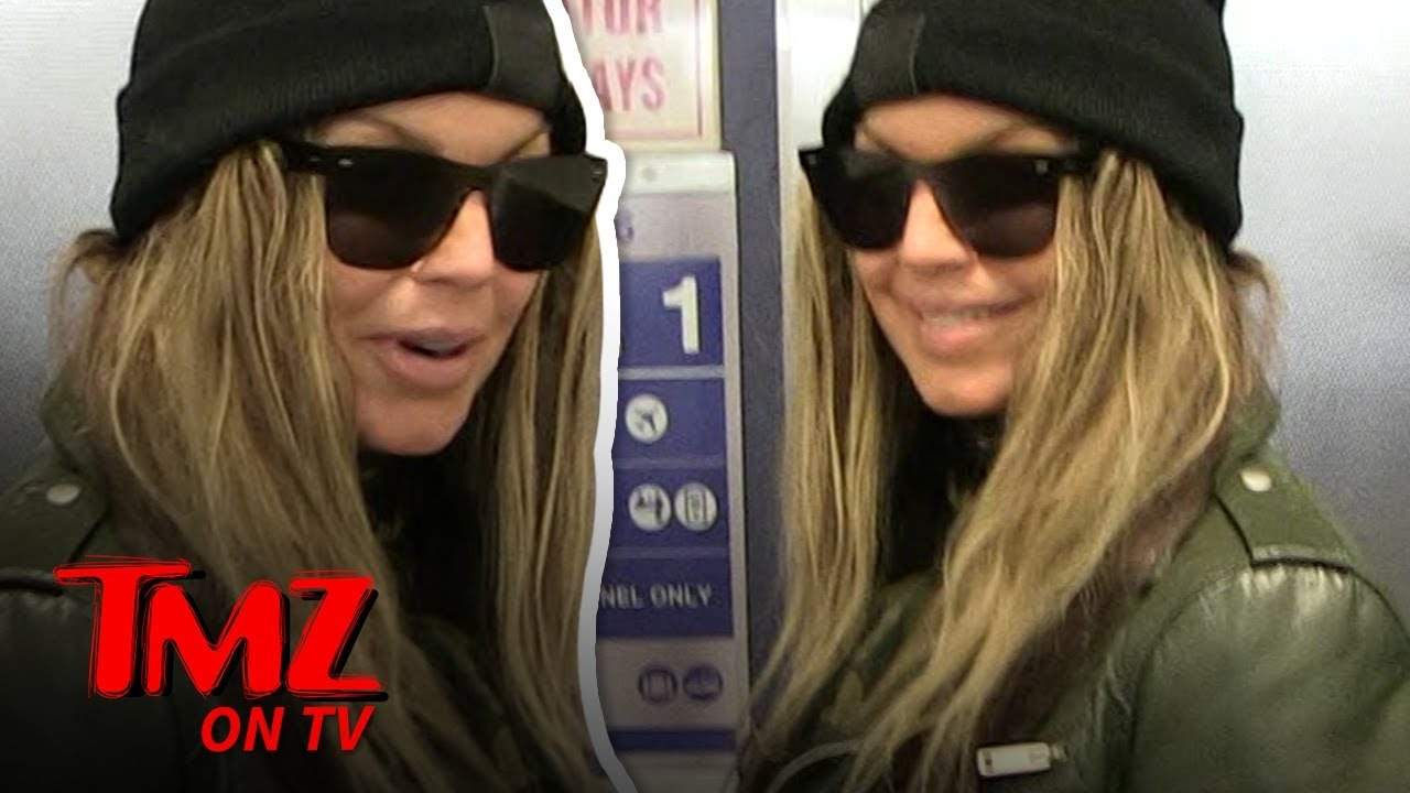 Fergie Says She's Down To Make 8 Inch Heels For Our Camera GUY! | TMZ TV 3
