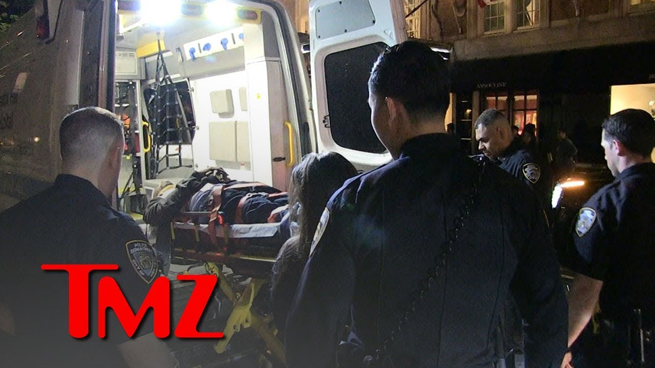 Victim of Alleged Beatdown Loaded onto Stretcher | TMZ 4