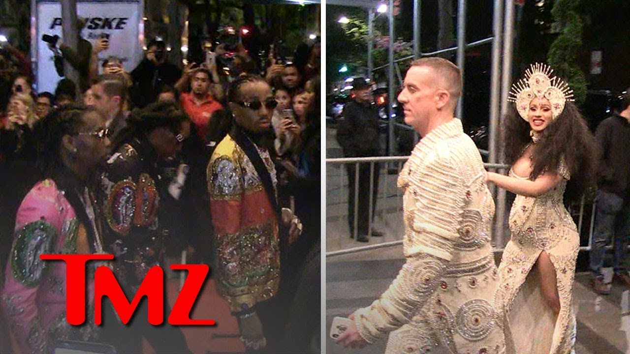 Migos & Cardi B Hours Before Violent Beatdown | TMZ 12