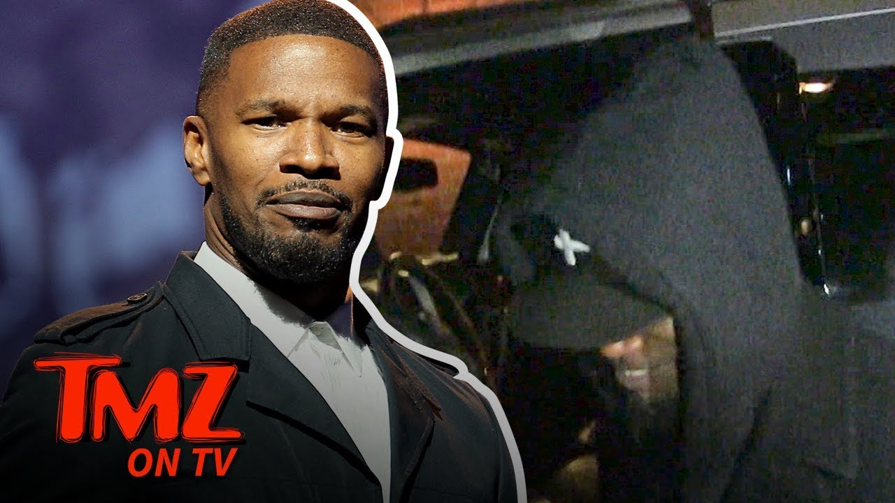 Jamie Foxx Offers Advice to Frances McDormand Over Oscar Thief | TMZ TV 1