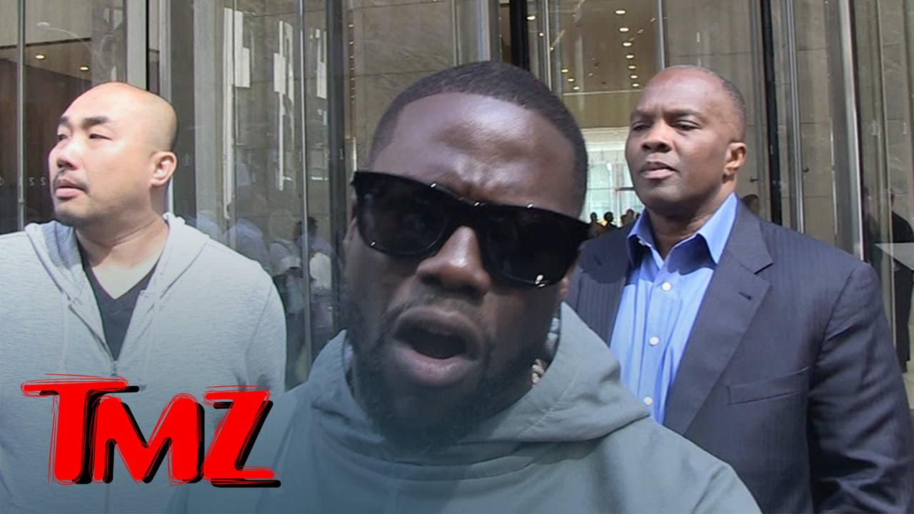 Kevin Hart -- Hey Biebs ... Here's How You Take Down a Big Dude | TMZ 1