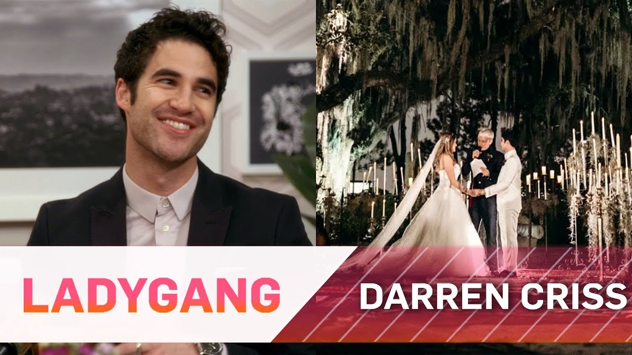 Darren Criss Gives Full Details on His Wedding | LadyGang | E! 3