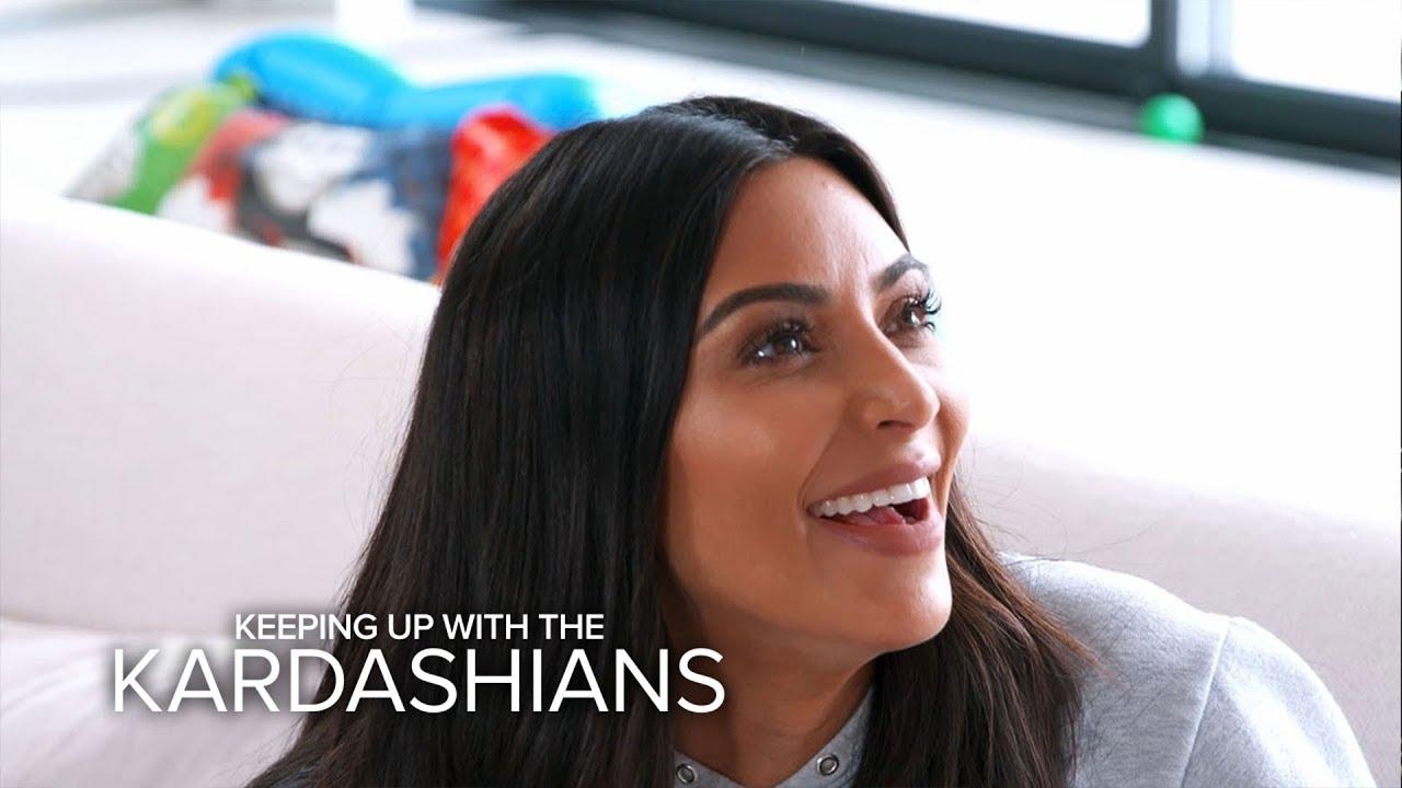 KUWTK | Kim Kardashian Takes Jonathan Cheban Exercising | E! 4