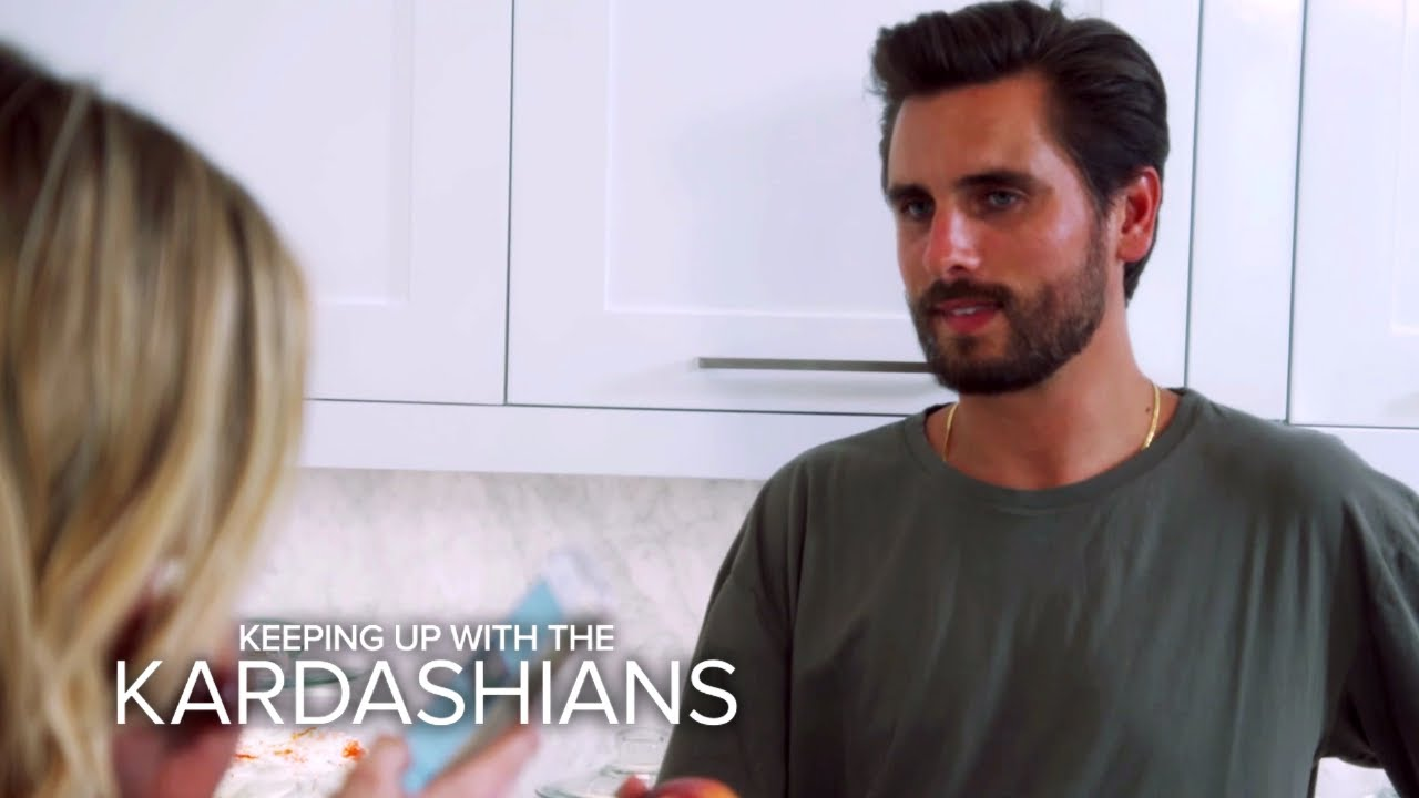 KUWTK | Scott Disick Misses Kourtney K. and the Kids | E! 7