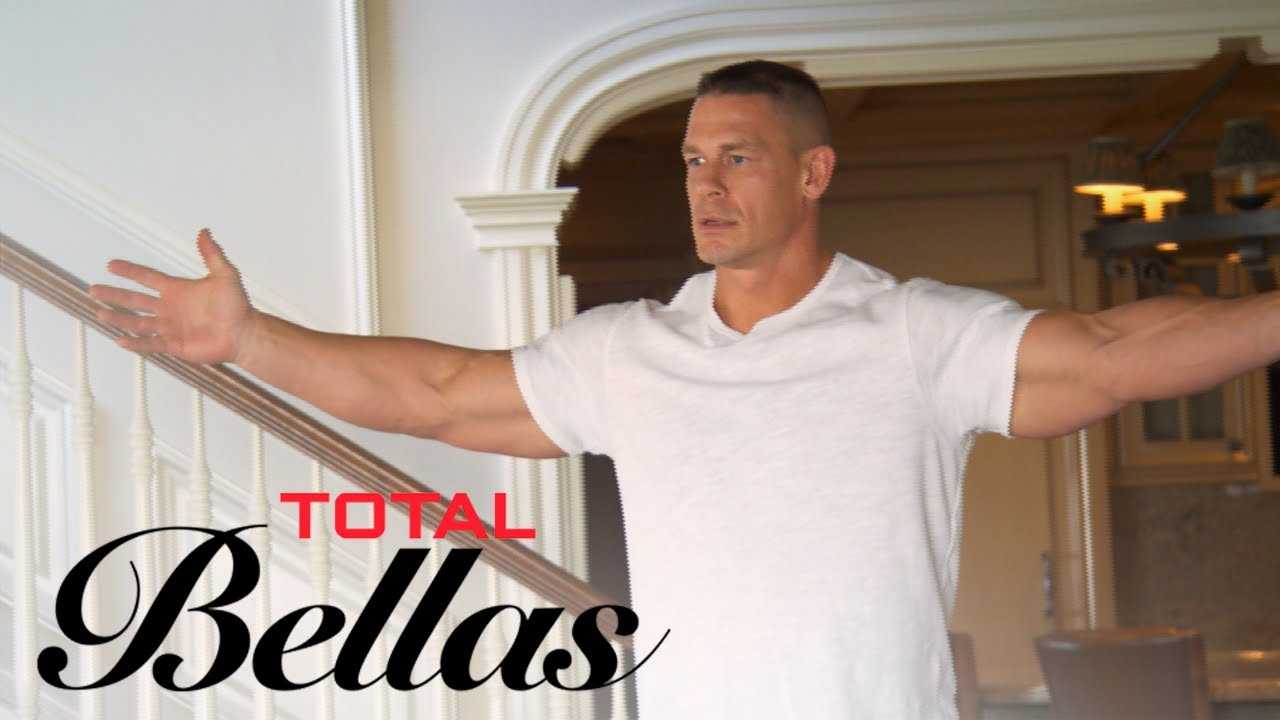 John Cena Gets Overly Excited for New Rug | Total Bellas | E! 5