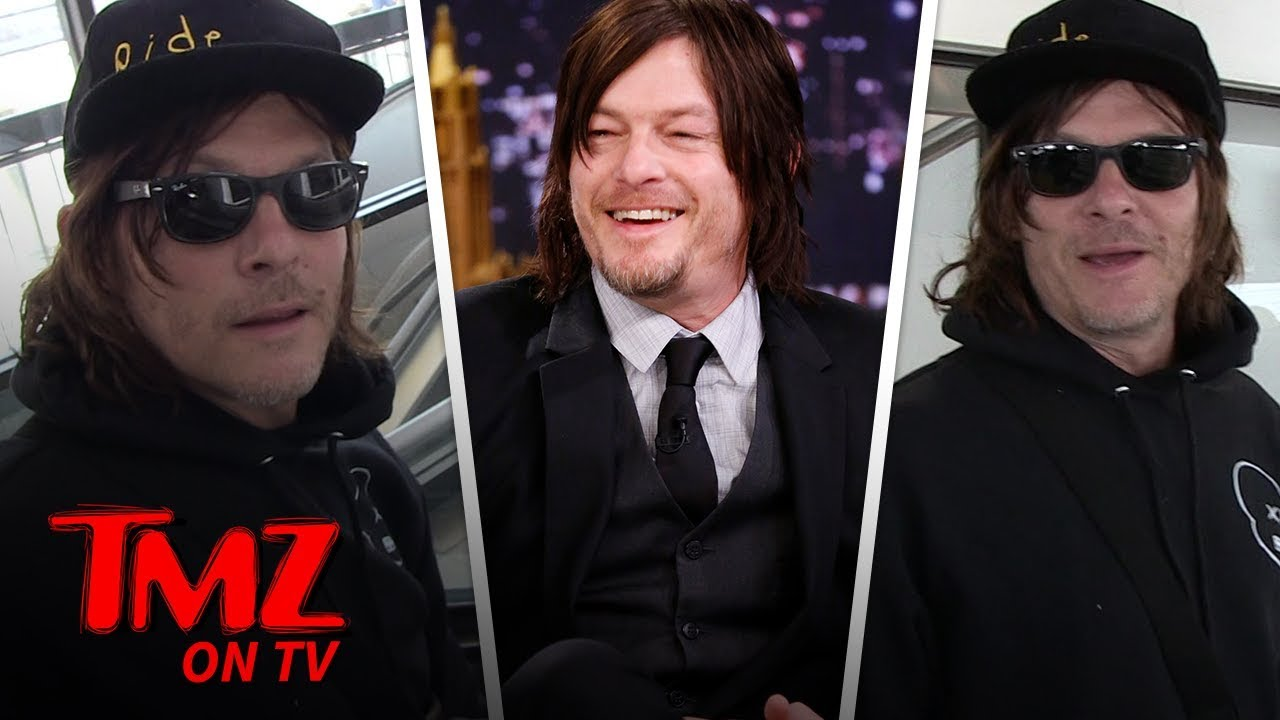 Norman Reedus Wants To Use His Voice For More Video Game Characters! | TMZ TV 4