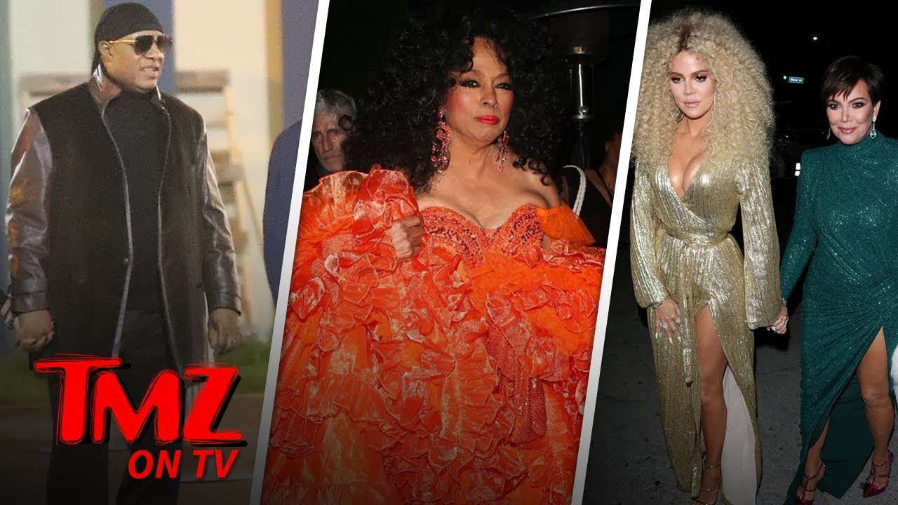 Diana Ross' 75th Birthday Was a Star-Studded Hollywood Affair | TMZ TV 4