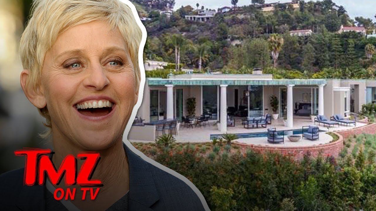 Ellen DeGeneres' Beverly Hills Home for Sale at Nearly $18 Mil | TMZ TV 5