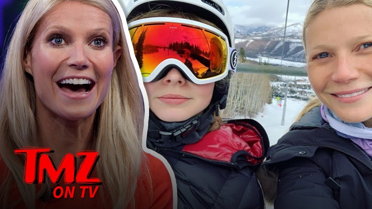 Gwyneth Paltrow's Daughter SHADES Her | TMZ TV 5