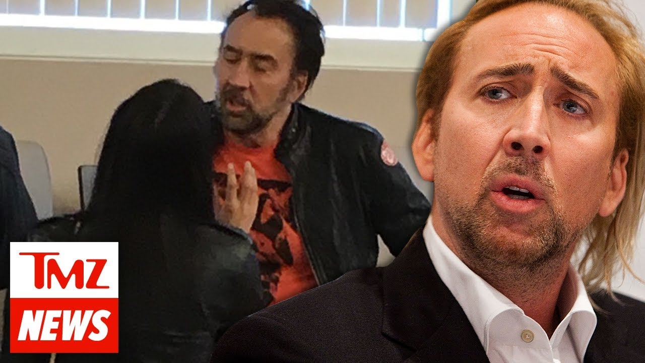 Nicolas Cage Fights with Wife Hours After Wedding, Annulment Based on Fraud | TMZ NEWSROOM TODAY 2