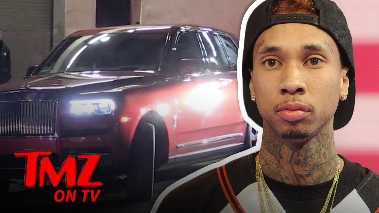 Tyga Says Screw the Repo Man, Buys New Rolls-Royce and Shops for Lambo | TMZ TV 3