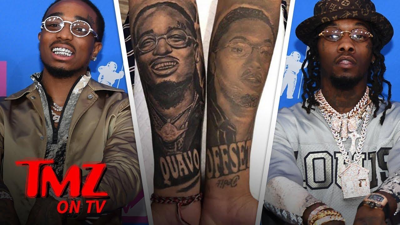 Migos' Offset Appreciates Fan's Incredible Tattoo Of Him | TMZ TV 2