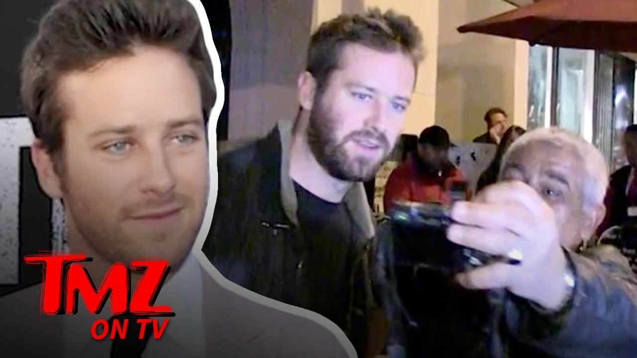 Armie Hammer The New Batman?! | TMZ TV 3