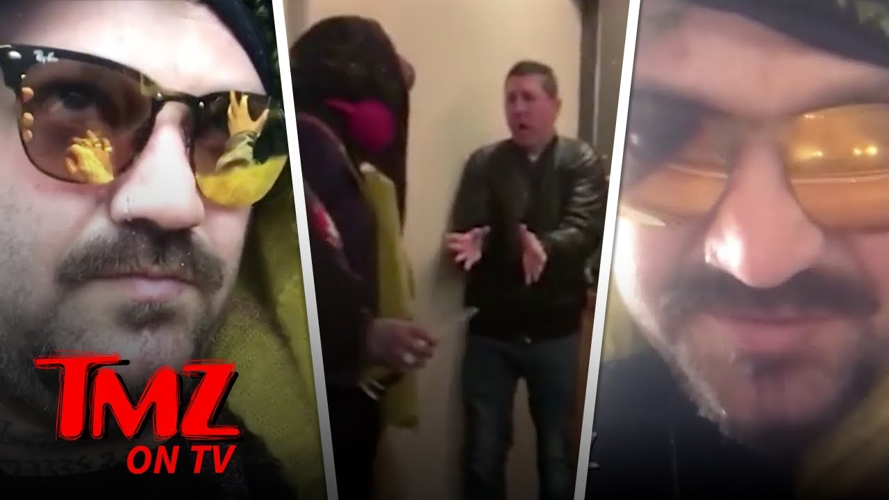 Bam Margera Goes Crazy & Rips Into Wife | TMZ TV 3