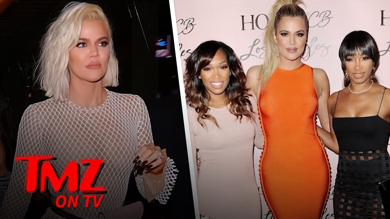 Khloe Kardashian Shows Off In A Full Fishnet Bodysuit | TMZ TV 4
