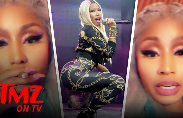 Nicki Minaj Forced to Cancel Concert, French Fans Savagely Chant 'Cardi B' | TMZ TV 1