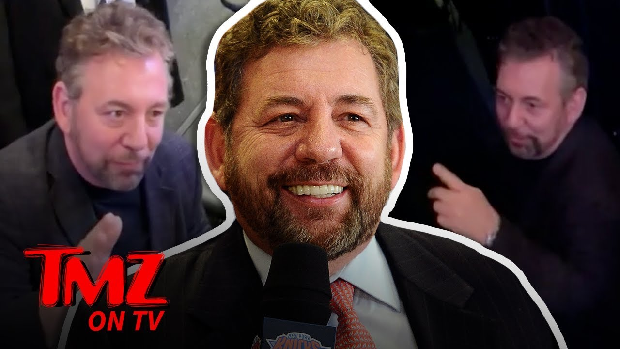 NY Knicks Owner Confront Fan Who Tells Him To Sell The Team | TMZ TV 3