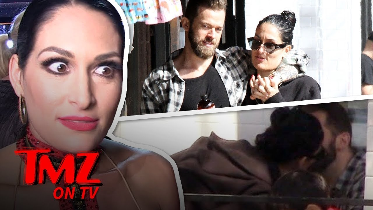 Nikki Bella & New BF Have A Serious Public Makeout Session | TMZTV 5
