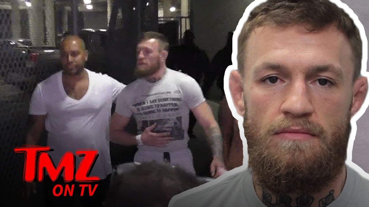 Conor McGregor Bails Out After Arrest for Robbery | TMZ TV 1