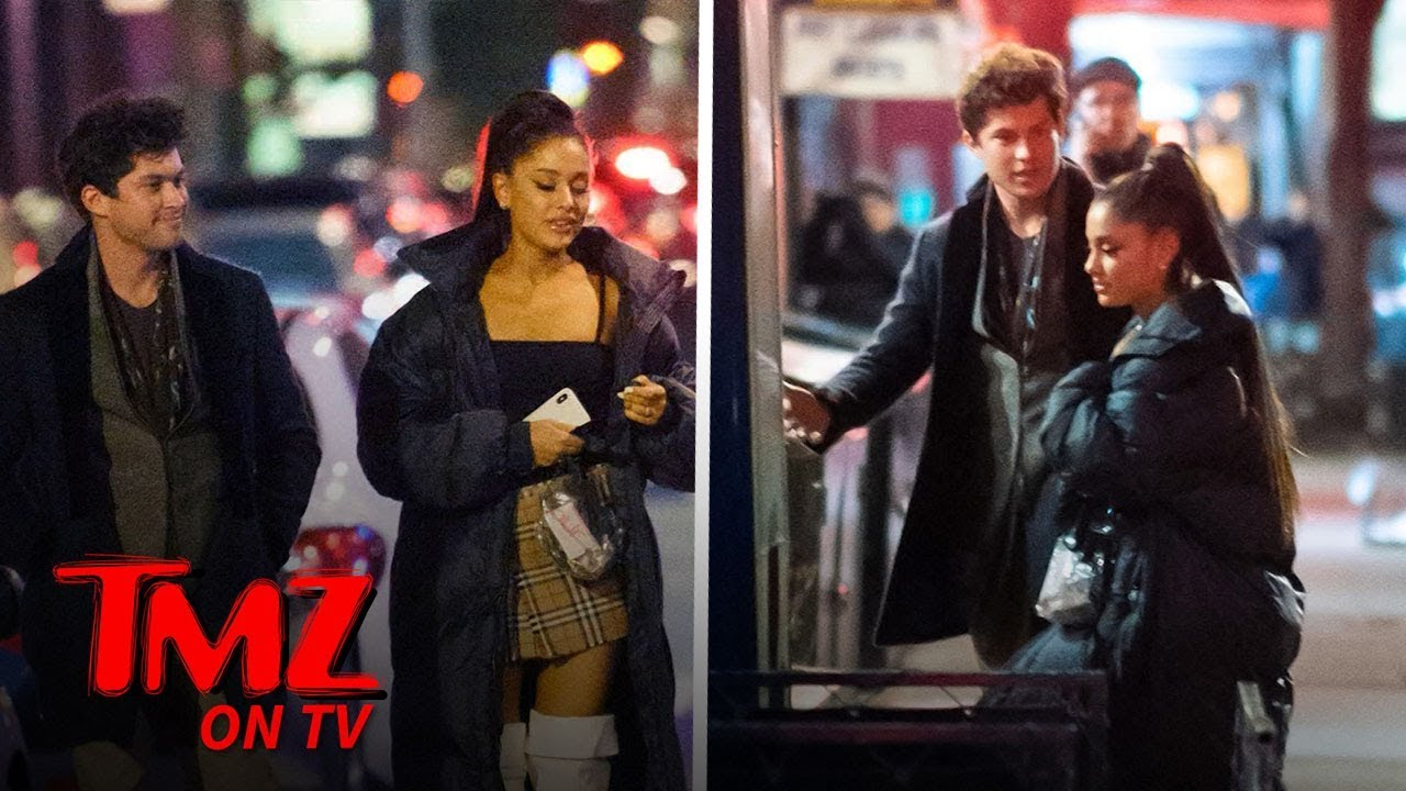 Ariana Grande's Catching Up with Another Ex | TMZ TV 1