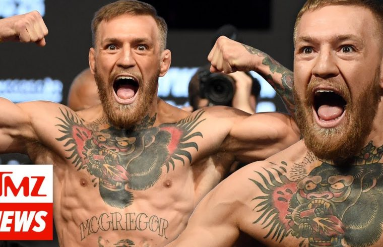 Conor McGregor Phone Stomping Incident Caught On Video   TMZ NEWSROOM TODAY 1