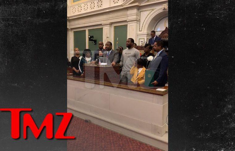Meek Mill Honored in Court   TMZ 1