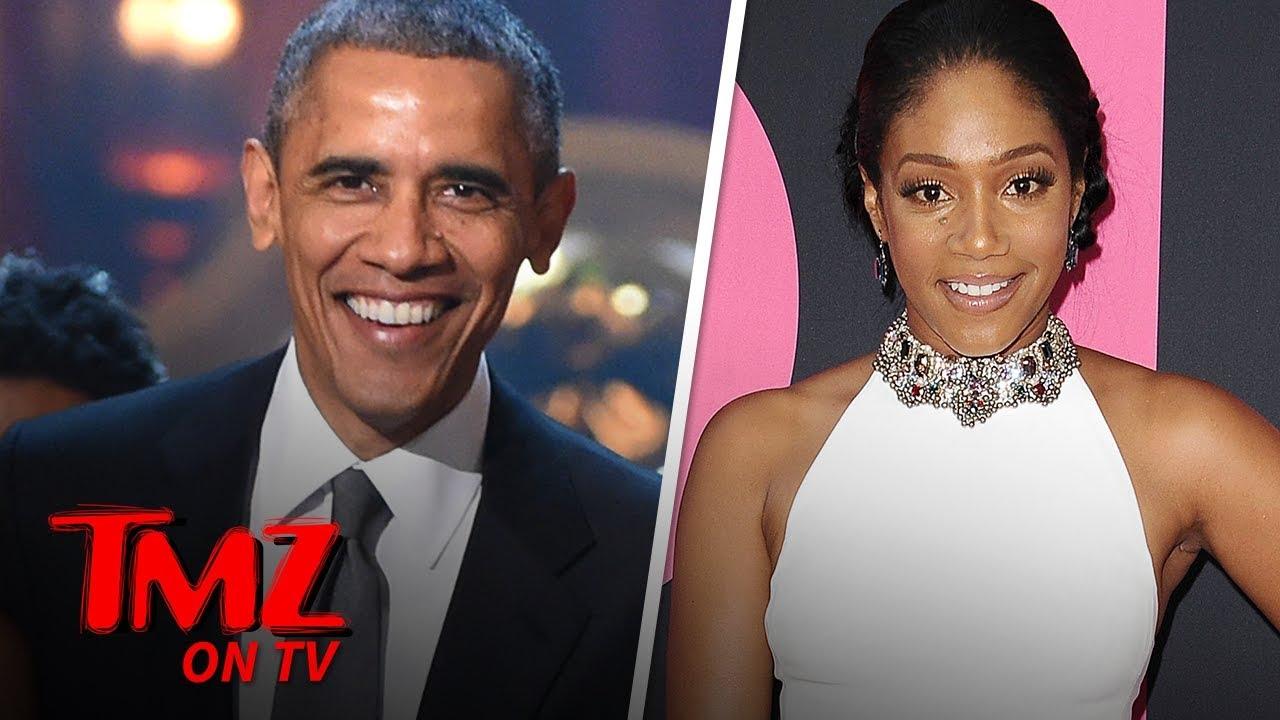 Tiffany Haddish Says Barack Obama Should Do Stand-Up! | TMZ TV 3