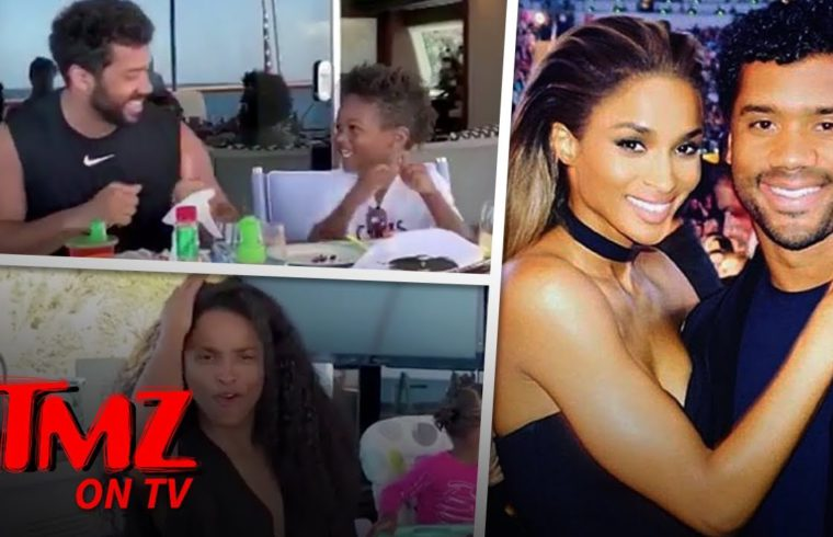Ciara & Russell Wilson Have A Family Dance Party By The Beach | TMZ TV 1