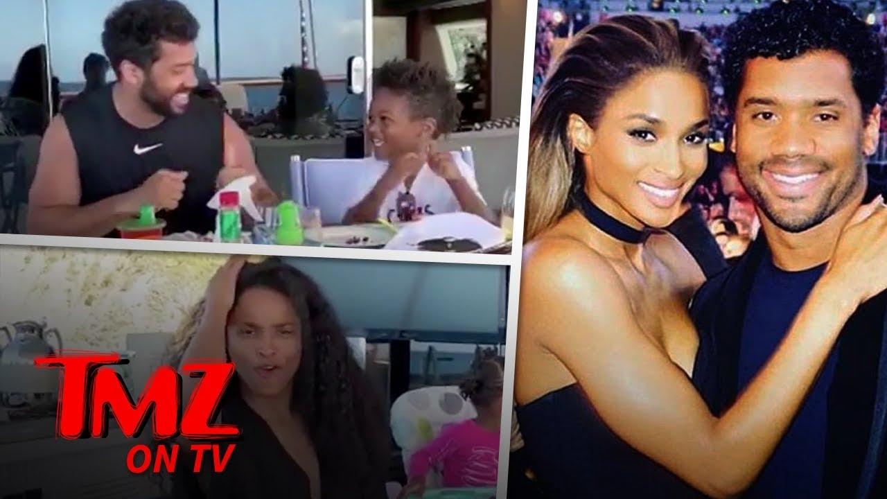 Ciara & Russell Wilson Have A Family Dance Party By The Beach | TMZ TV 4