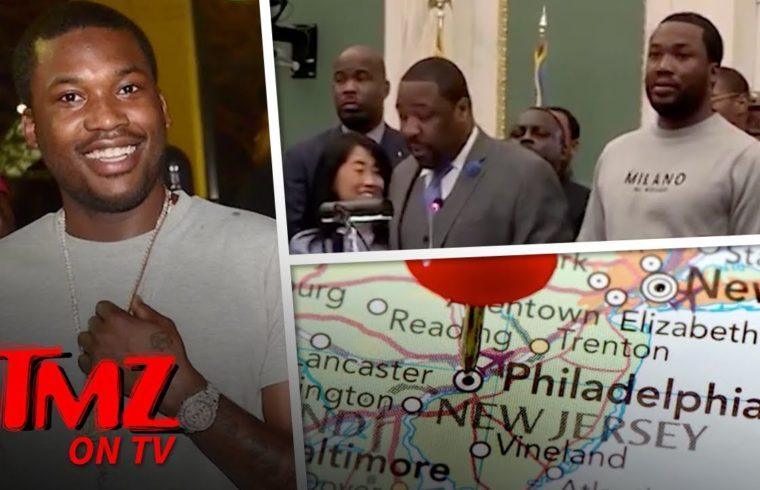 Meek Mill Weekend Is Official In Philly | TMZ TV 1
