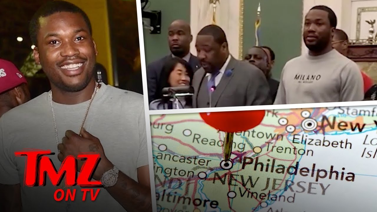 Meek Mill Weekend Is Official In Philly | TMZ TV 4