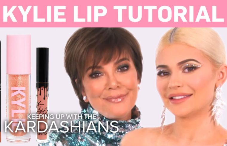 KUWTK | Kylie Jenner Does a Makeup Tutorial on Kris! | E! 1