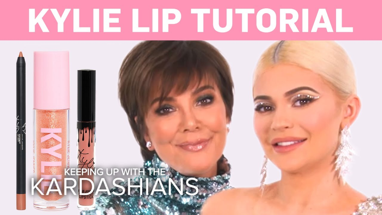 KUWTK | Kylie Jenner Does a Makeup Tutorial on Kris! | E! 5