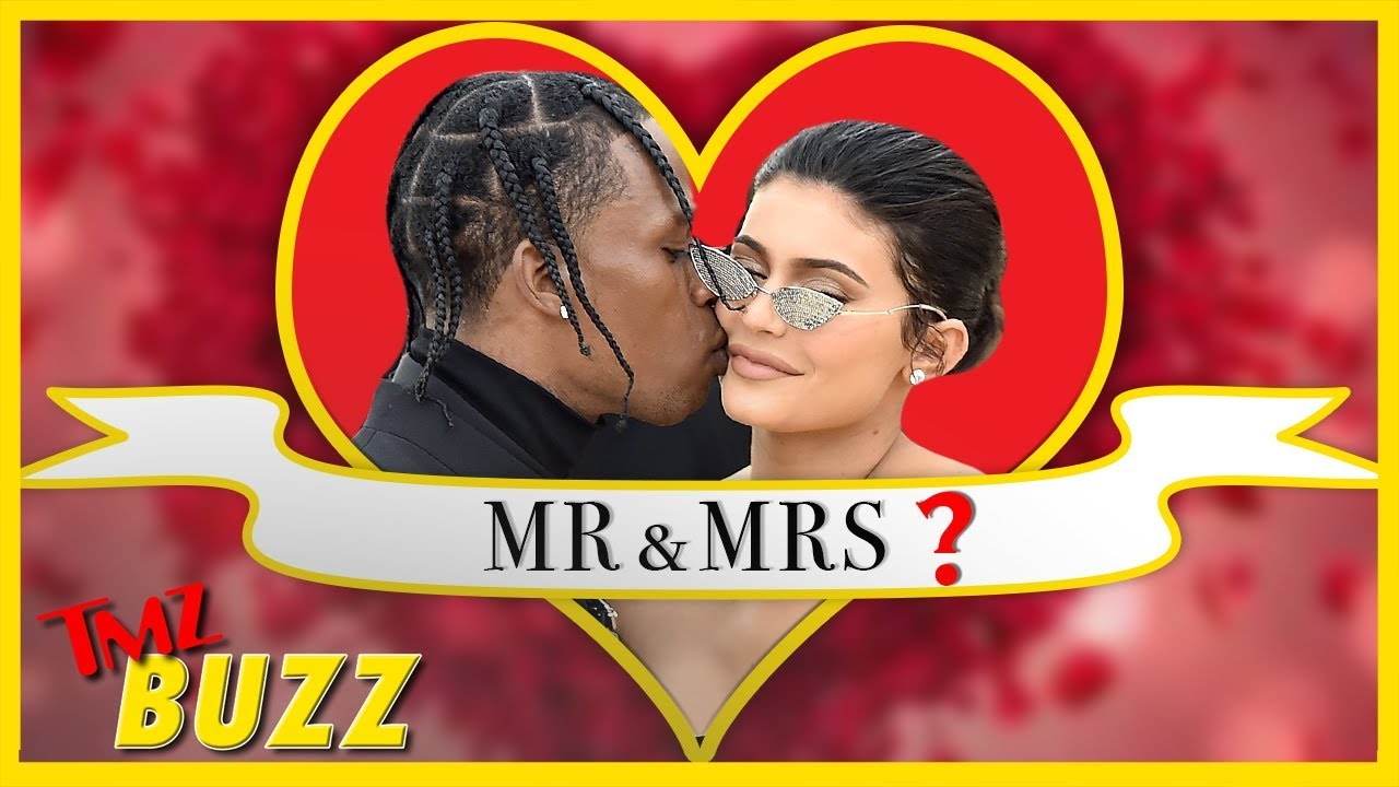 When Will Travis Scott Pop The Question To Kylie Jenner? | TMZ Buzz 4