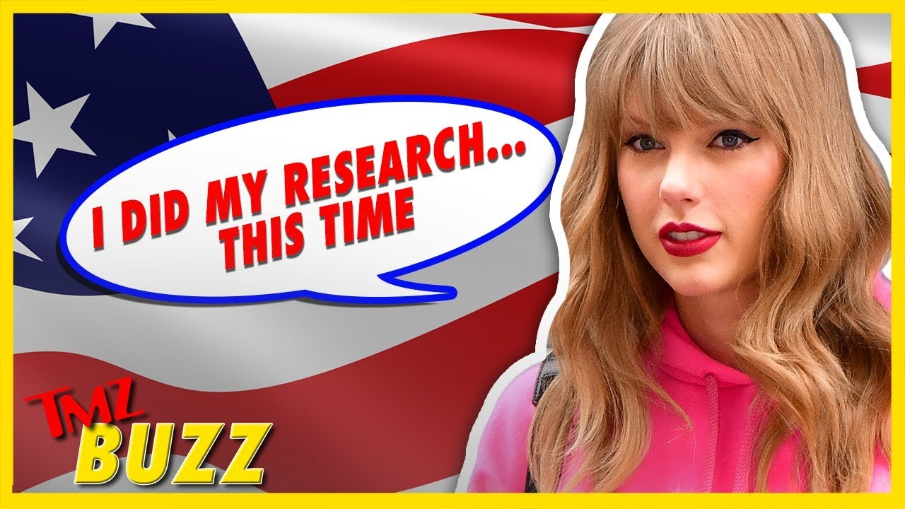Should Taylor Swift Stay Out Of Politics? | TMZ BUZZ 5