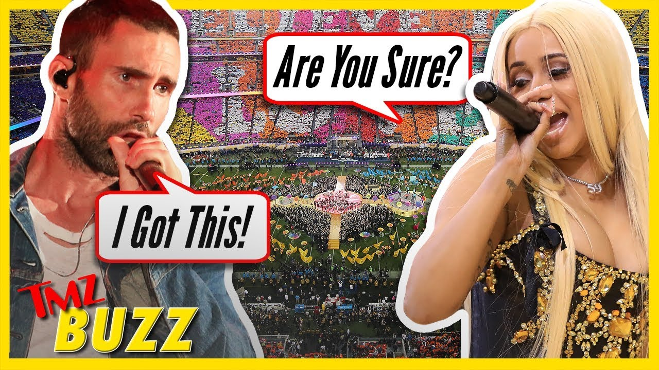 Cardi B Wants Her Own Super Bowl Halftime Show | TMZ BUZZ 2