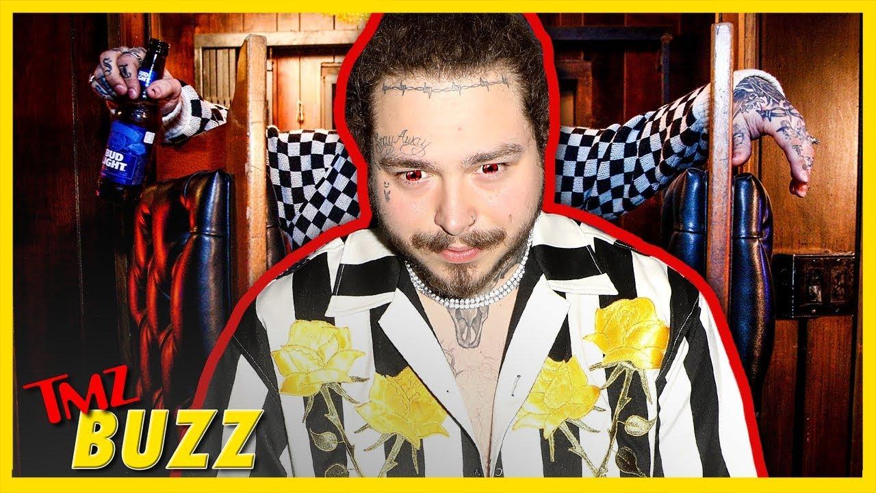 Is Post Malone Cursed? | TMZ BUZZ 1