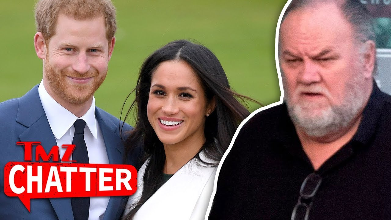 Meghan Markle's Father is Not Going to the Royal Wedding, Suffered Heart Attack | TMZ Chatter 4